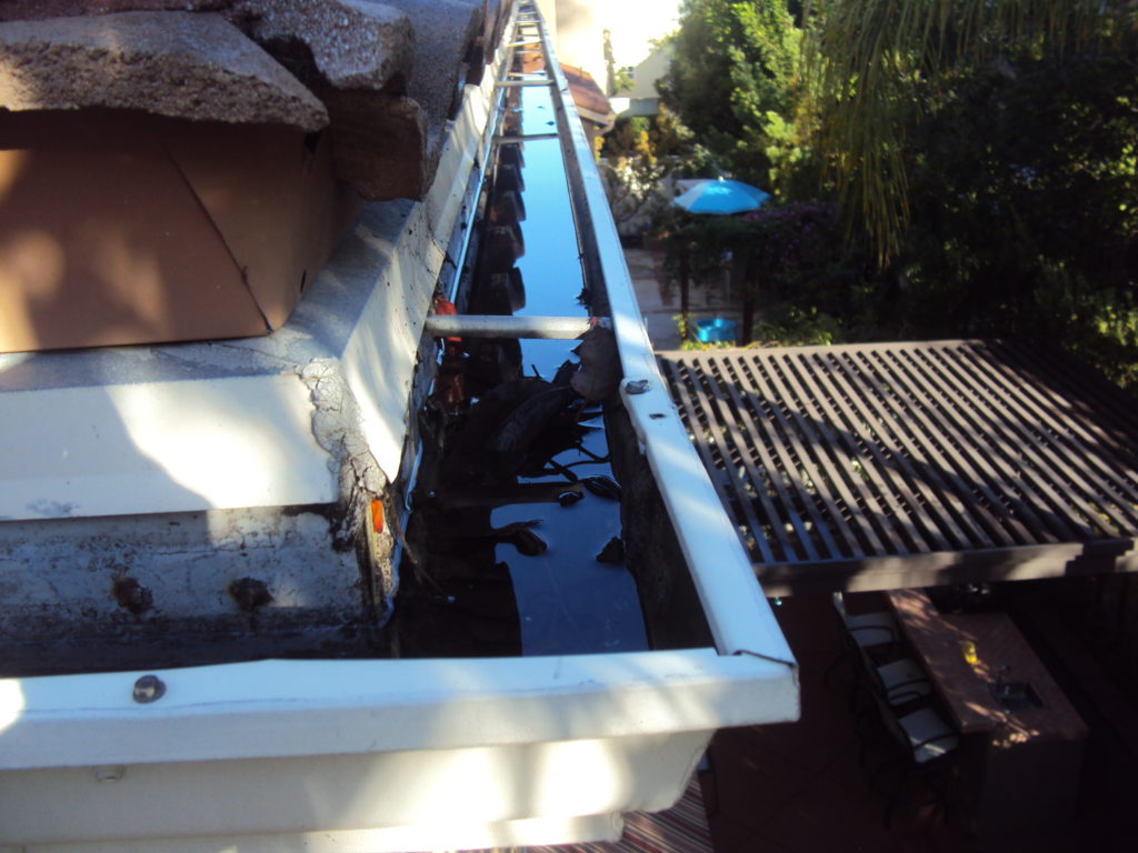 Orange County Rain Gutter Cleaning